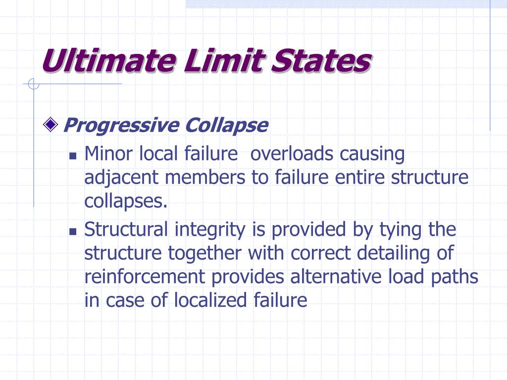 Ultimate Limit States
