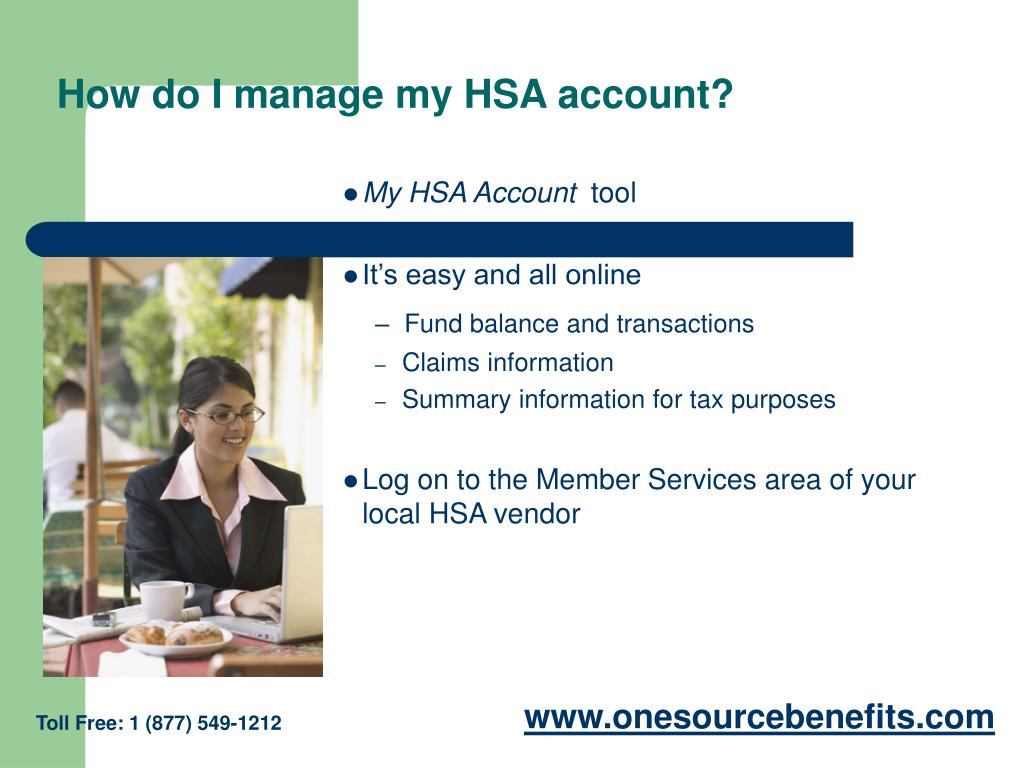 How do I manage my HSA account?