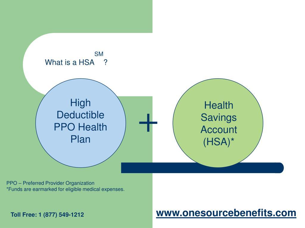 High Deductible PPO Health Plan