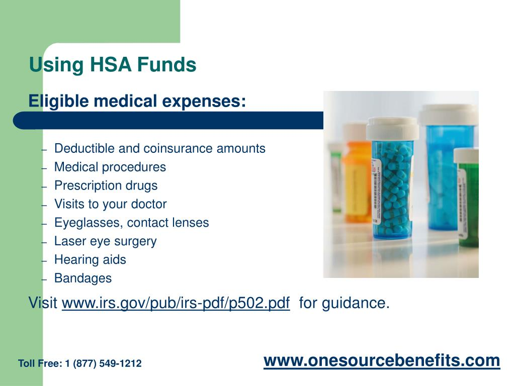 Using HSA Funds