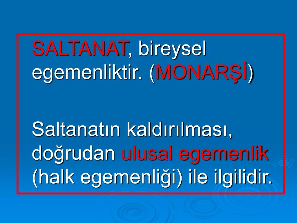 SALTANAT