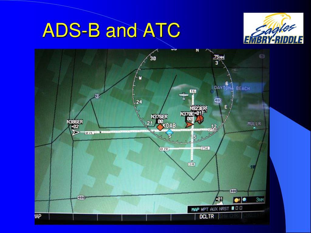 ADS-B and ATC