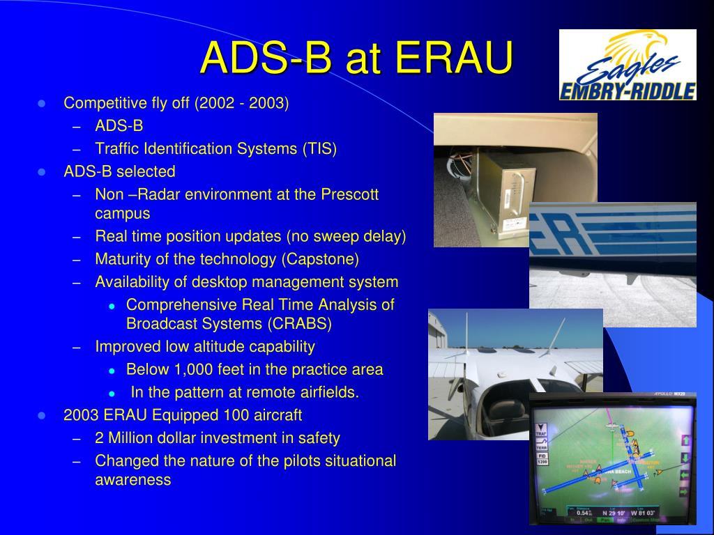 ADS-B at ERAU