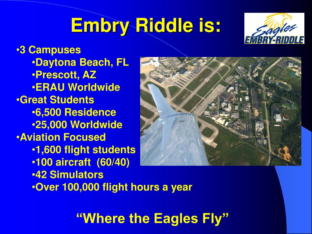 Embry Riddle is: