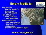 embry riddle is