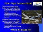 erau flight business model