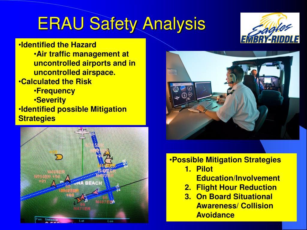 ERAU Safety Analysis