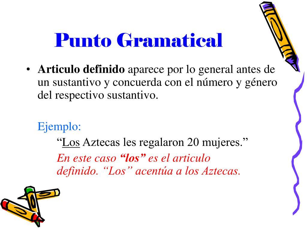 Punto Gramatical