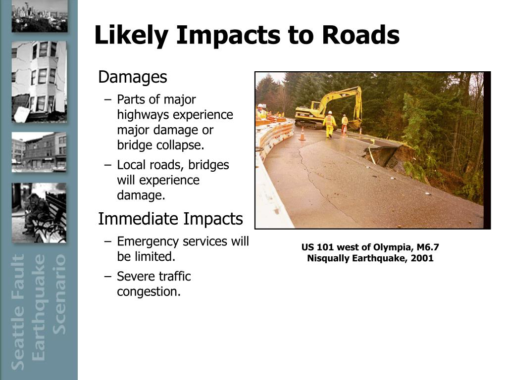 Likely Impacts to Roads