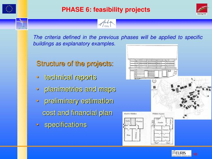 PHASE 6: feasibility projects