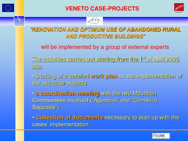 VENETO CASE-PROJECTS