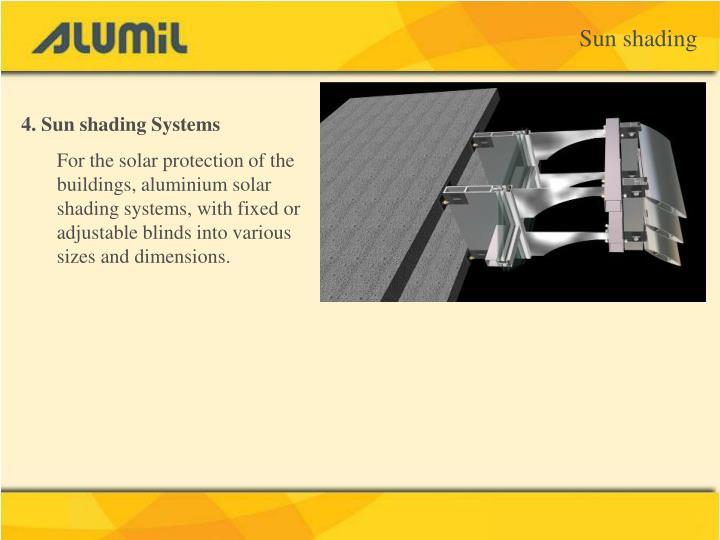 Sun shading