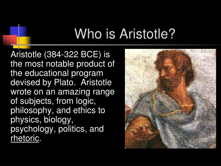 Who is aristotle