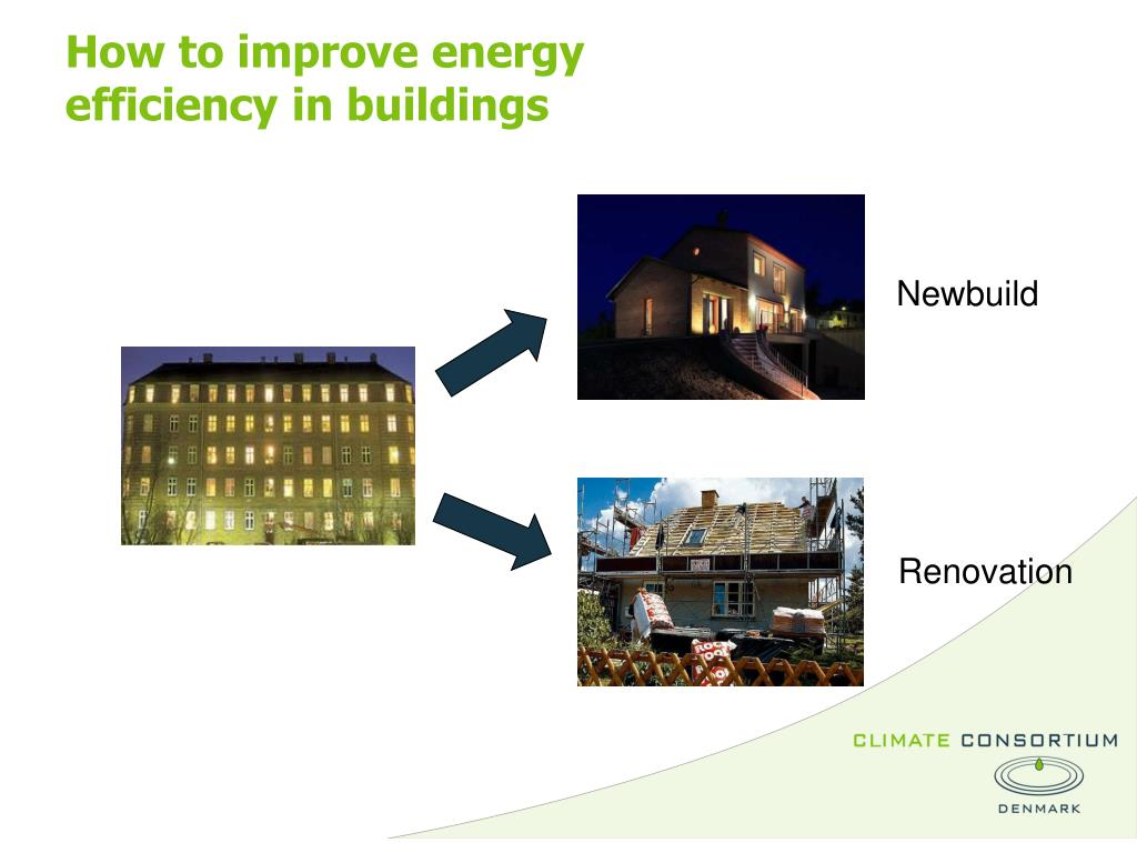 How to improve energy