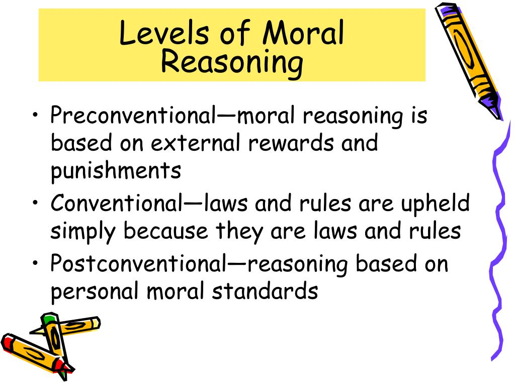 the importance of instilling moral reasoning in children using kohlbergs theory Kohlberg's stages of moral development research believing that moral reasoning is as important as of a child's mind kohlberg's theory was based on.