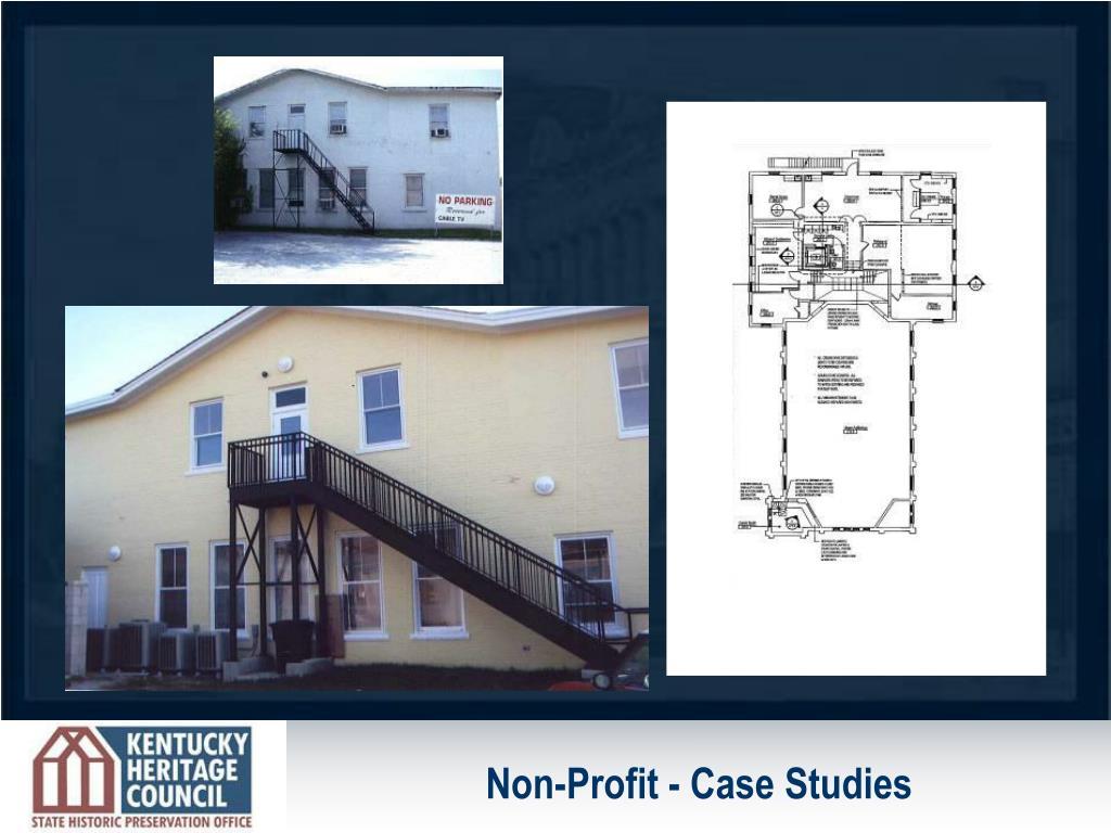 Non-Profit - Case Studies