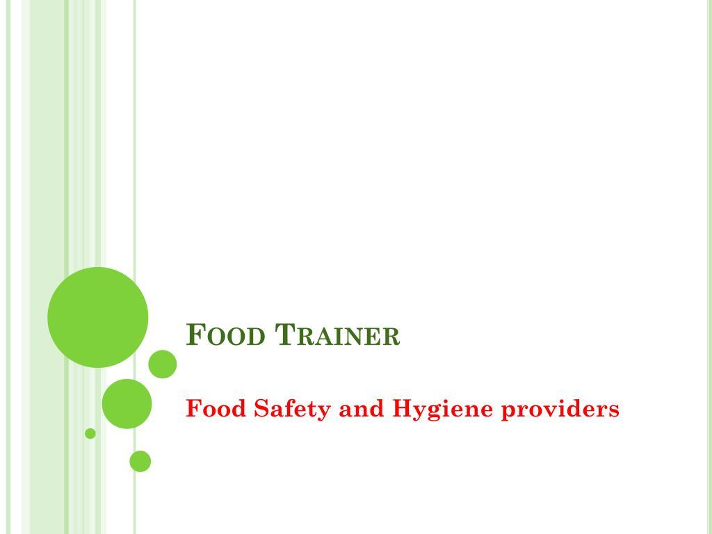 Food Trainer