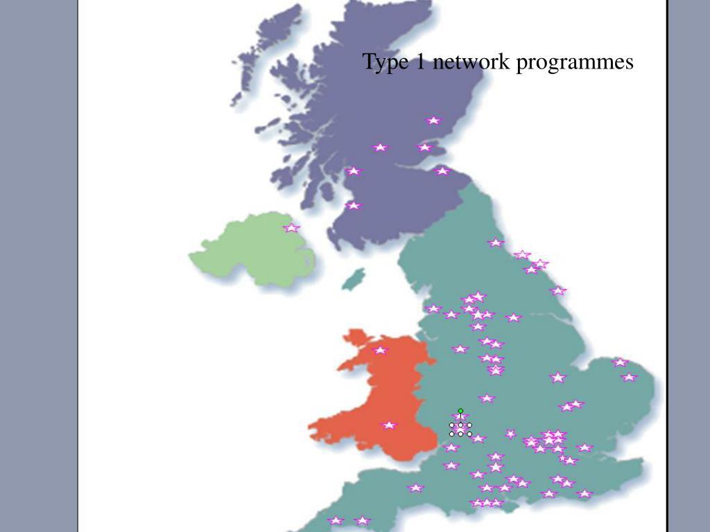 Type 1 network programmes