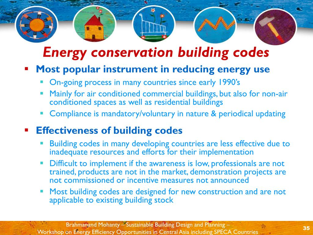 Most popular instrument in reducing energy use