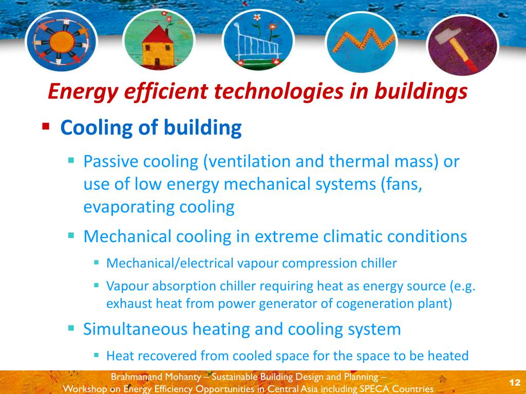 Cooling of building