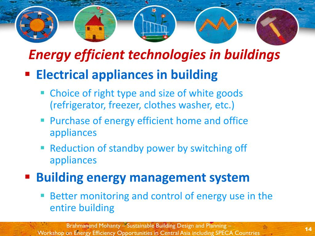 Electrical appliances in building