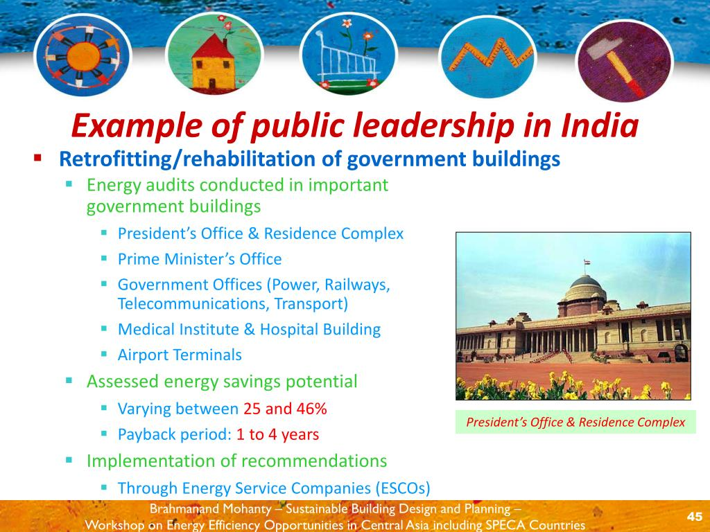 Retrofitting/rehabilitation of government buildings