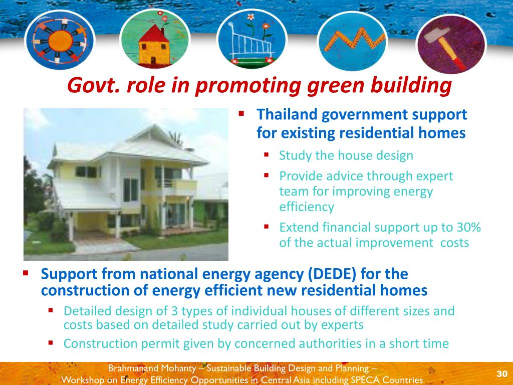 Thailand government support for existing residential homes
