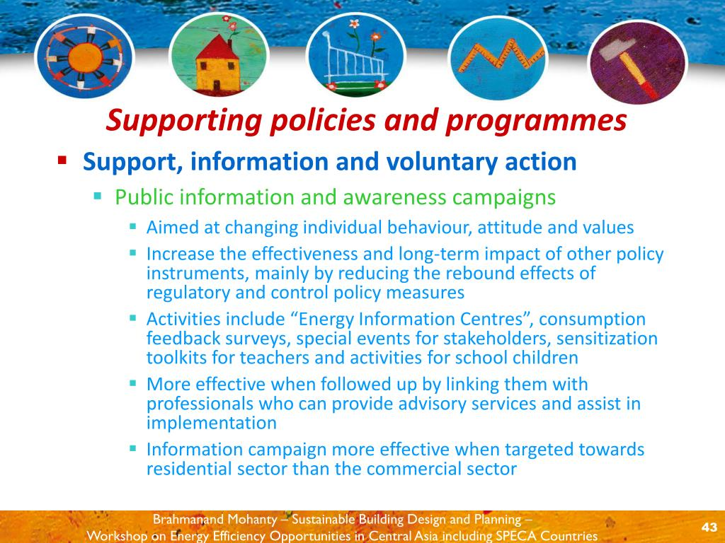 Support, information and voluntary action