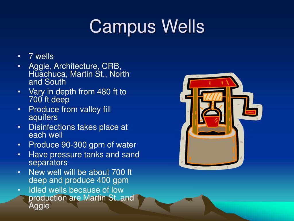 Campus Wells