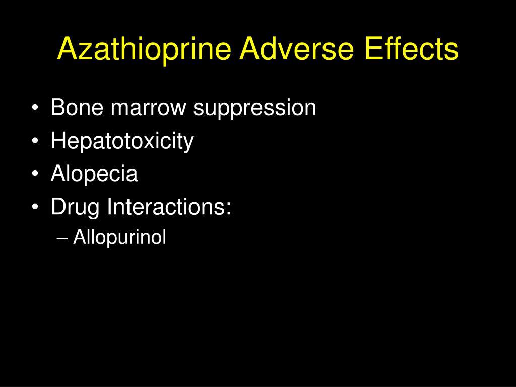 Imuran Drug Interactions