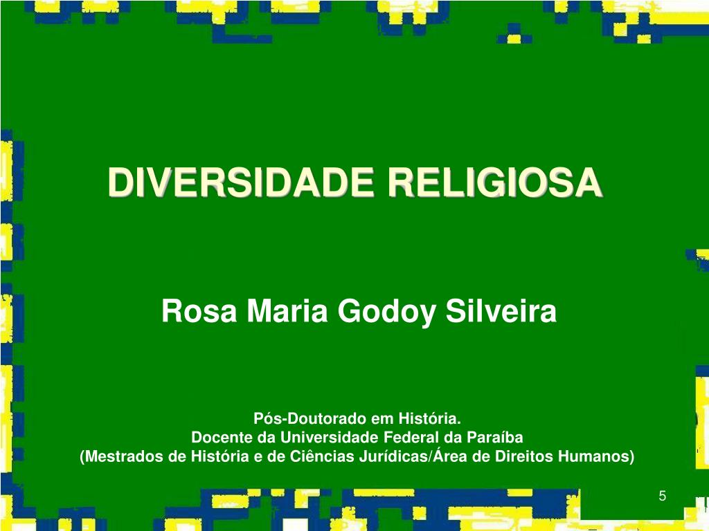 DIVERSIDADE RELIGIOSA