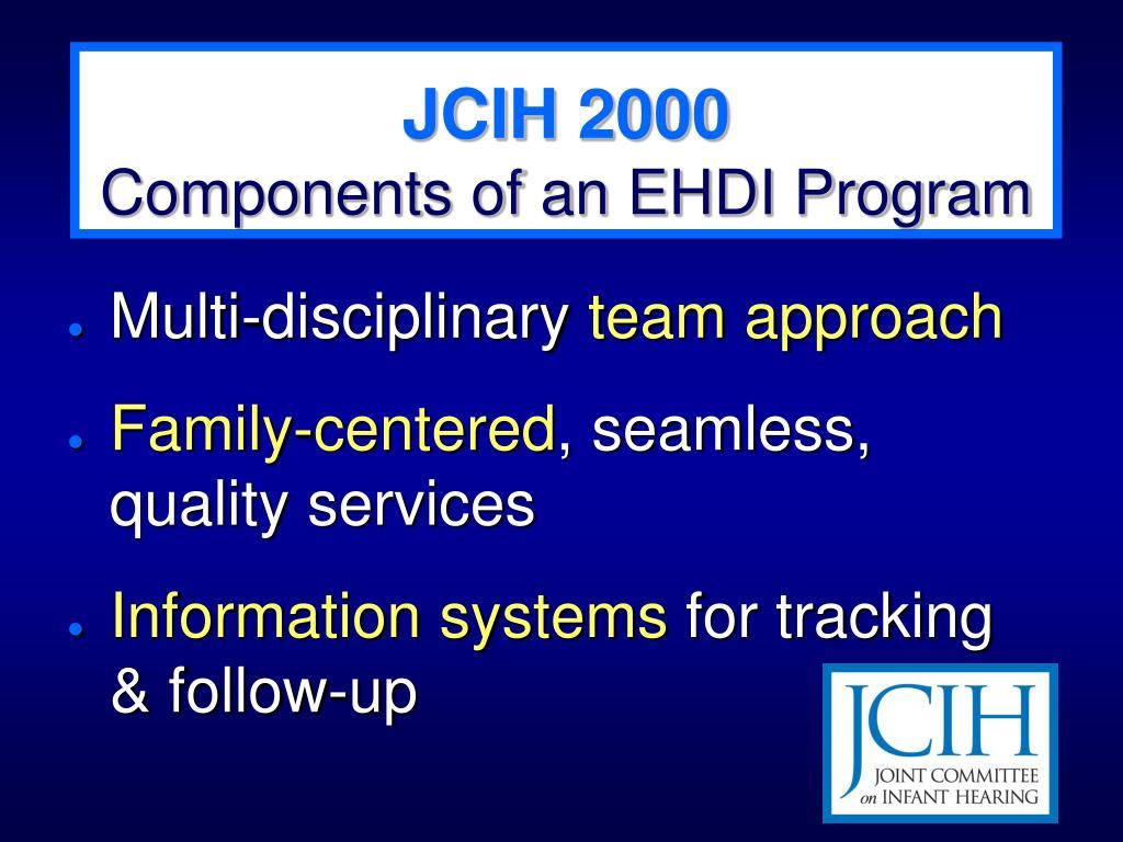 JCIH 2000