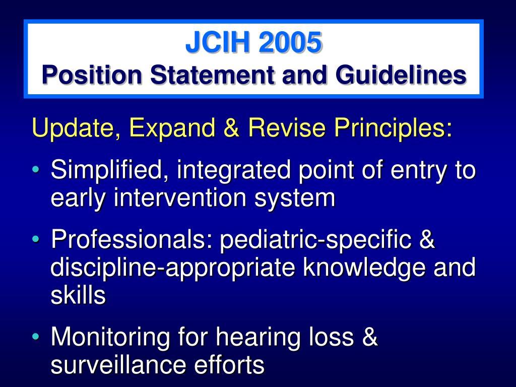JCIH 2005