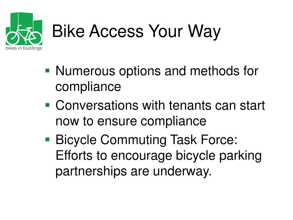 Bike Access Your Way