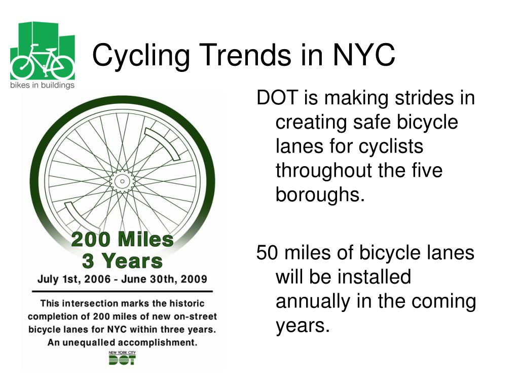 DOT is making strides in creating safe bicycle lanes for cyclists throughout the five boroughs.