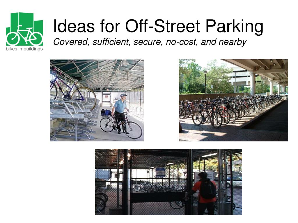 Ideas for Off-Street Parking