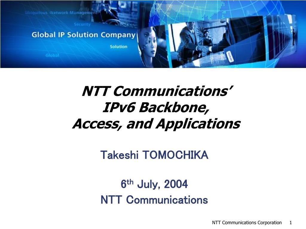 NTT Communications'