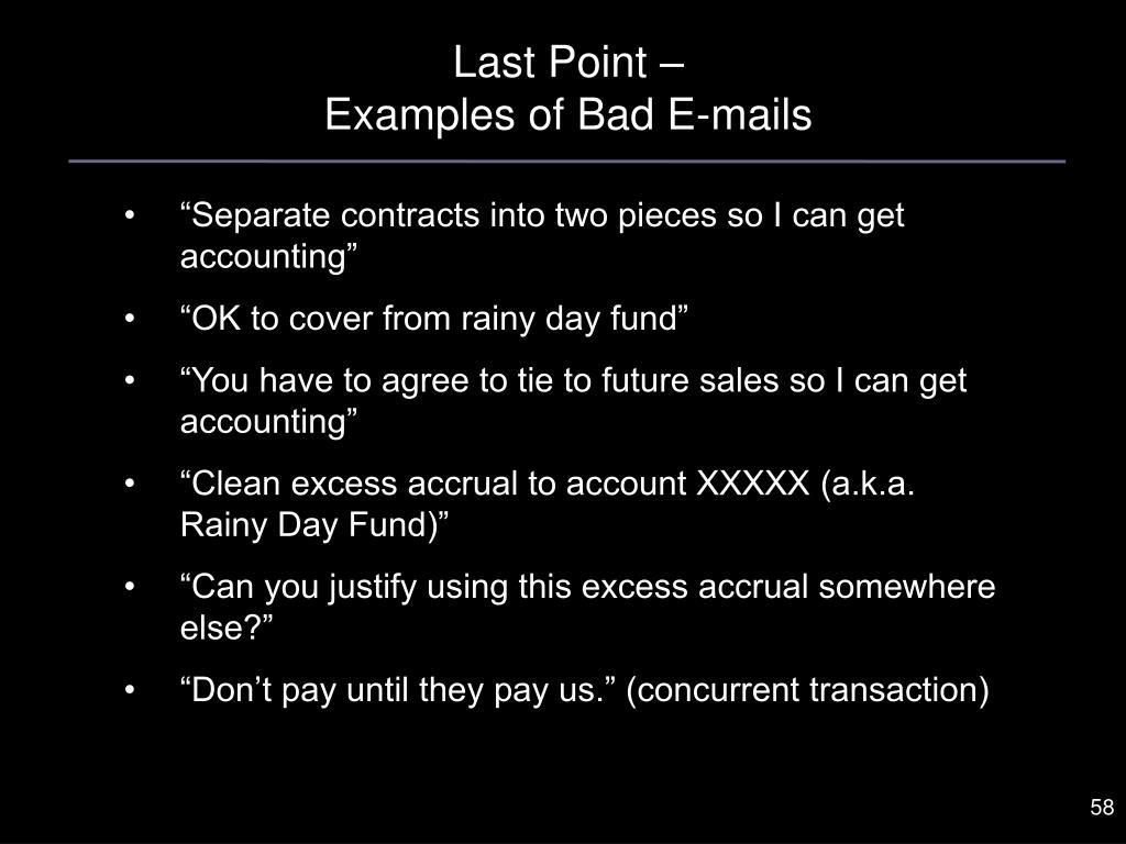 Last Point –