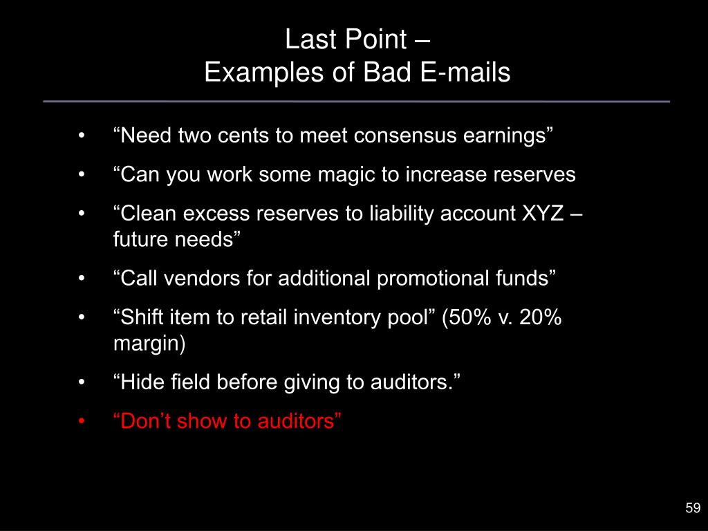 Last Point –