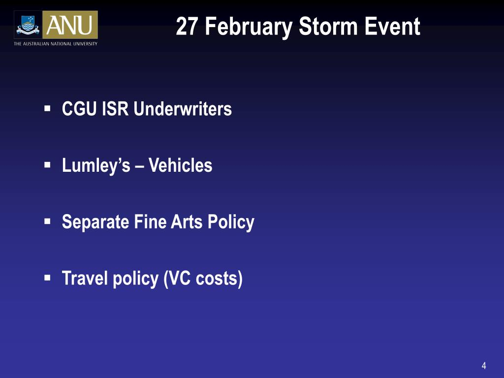 27 February Storm Event