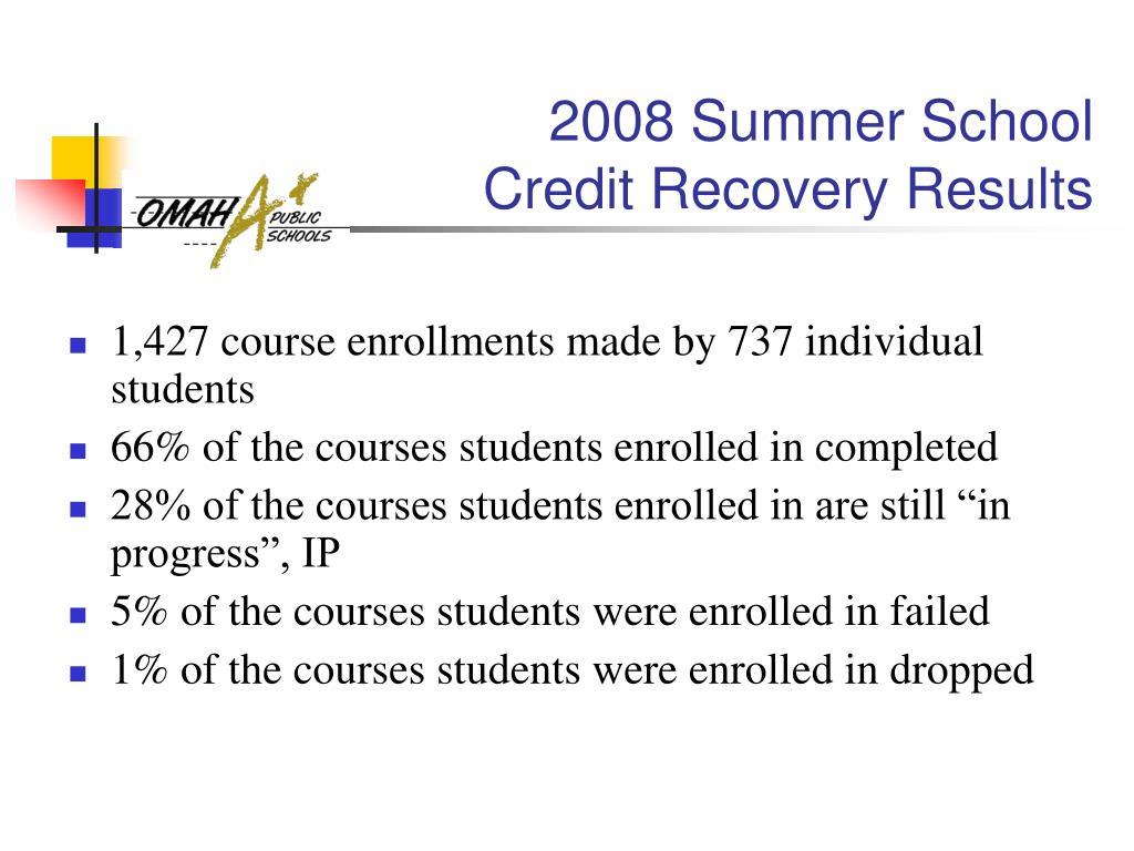 2008 Summer School