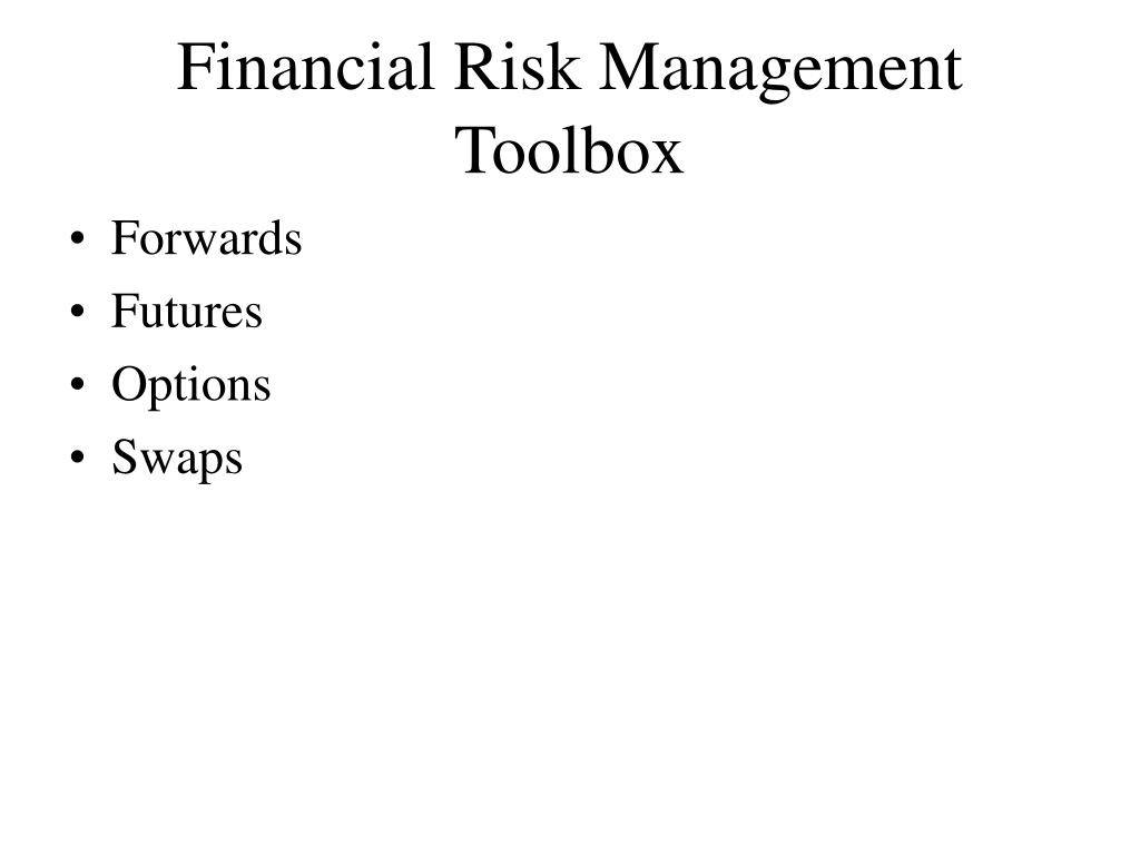 Financial Risk Management Toolbox