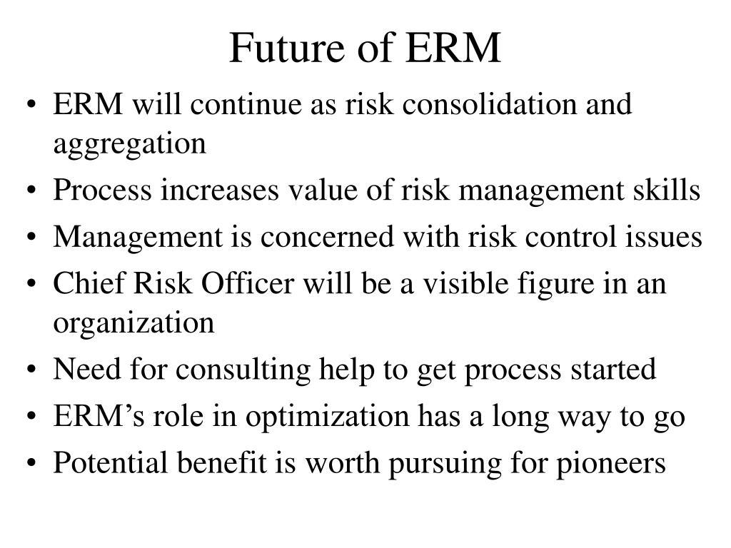 Future of ERM