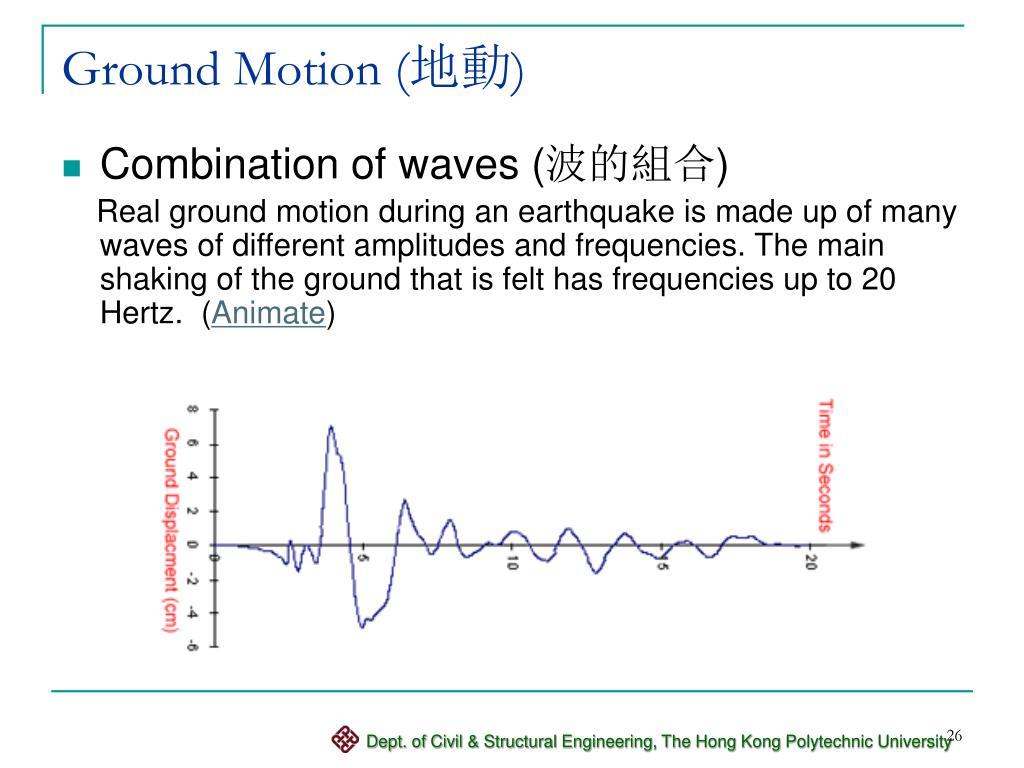 Ground Motion