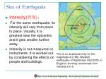 size of earthquake19
