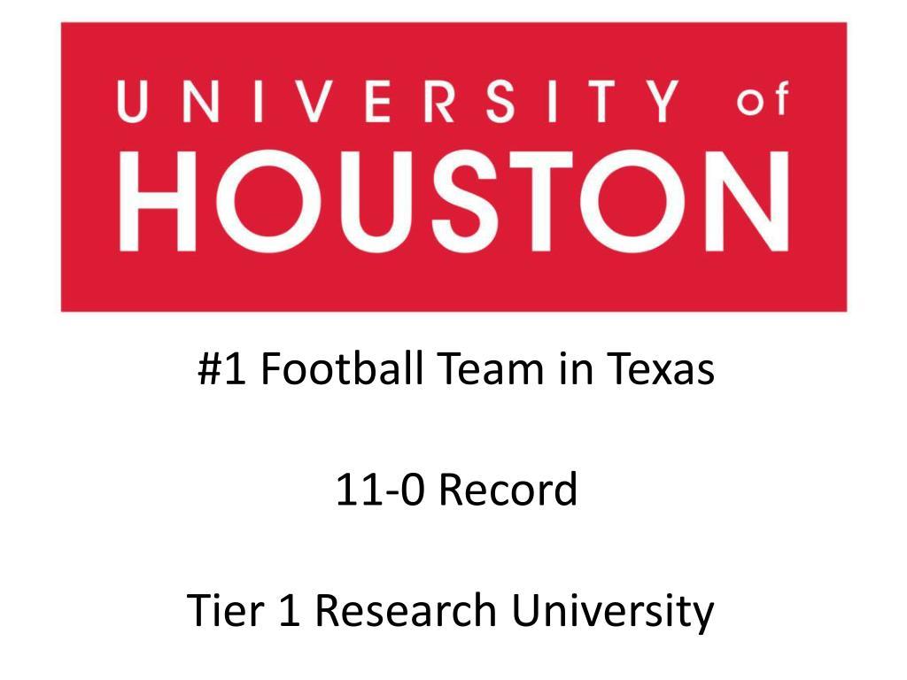 #1 Football Team in Texas