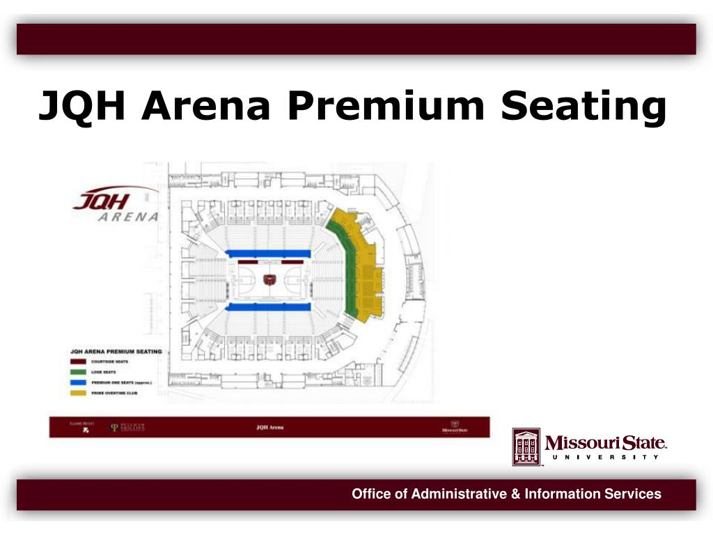 JQH Arena Premium Seating