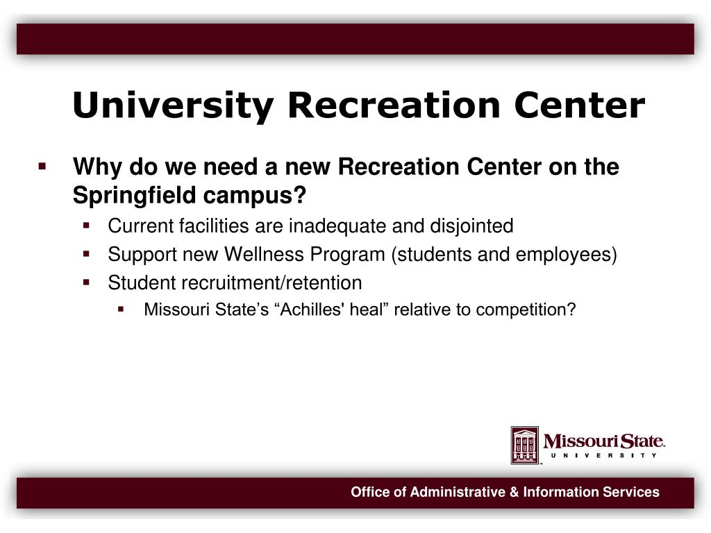 University Recreation Center