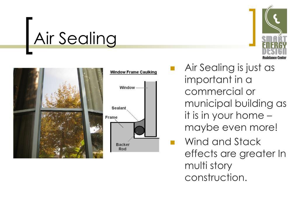 Air Sealing