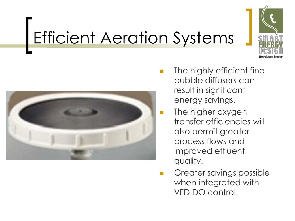 Efficient Aeration Systems
